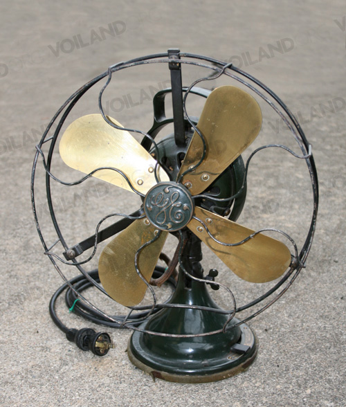 General Electric fan c.1920's from the Lion Cafeteria
